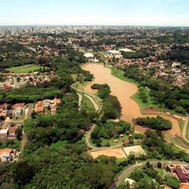 Vista Aerea do Parque São Lourenço