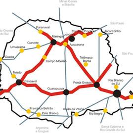 Mapa do Paran