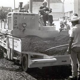 Asfaltagem nos anos 70