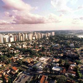 Vista aerea de Curitiba