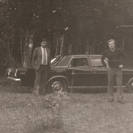 Jaime e Ceccon nos anos 70