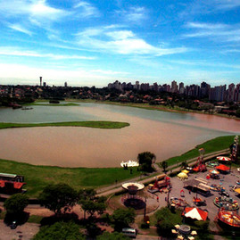 Vista Aerea do Parque Barigui