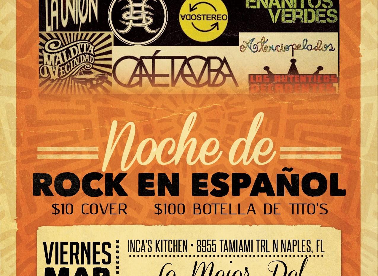 Spanish Rock | Noche de Rock en Espanol