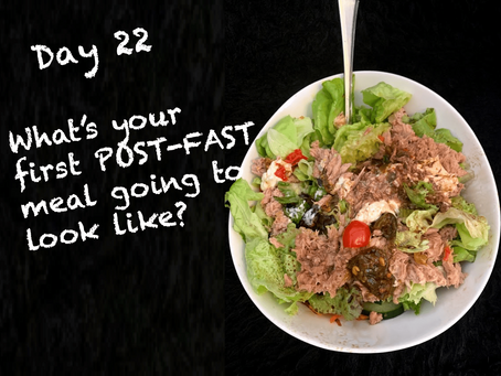 72 Days until the end of the decade, and 72 days to lose the gut challenge…Day 22