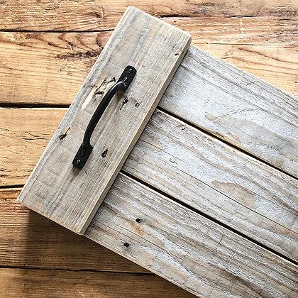 Grey Wood Rustic Tray