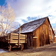 Valley Road Barn circa 1998 by Jack Hursh