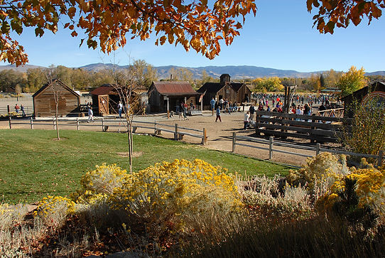 Truckee Meadows Remembered Bartley Ranch Park in Fall View by Jack Hursh
