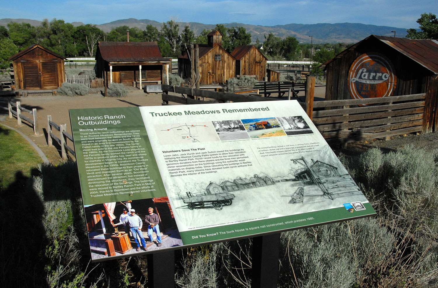 Truckee Meadows Remembered at Bartley Ranch (circa 2017)