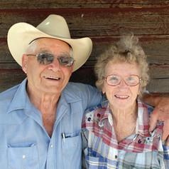 Ed & Nina Robinson at TMR Bartley Ranch