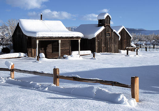 Truckee Meadows Remembered in Snow Season at Bartley Ranch by Jack Hursh