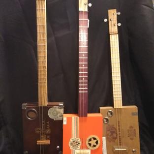 JW Cigar Box Guitars