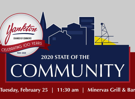 YANKTON: 2020 STATE OF THE COMMUNITY EVENT