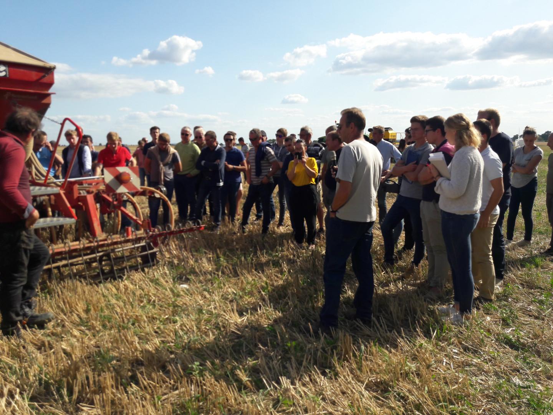 Démonstration de semoirs de semis direct en partenariat avec l'ARDARSO 2019