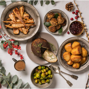 How to make this year's christmas dinner scrumptious yet sustainable.