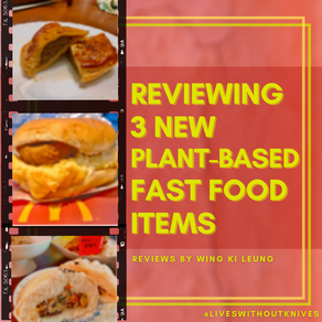 Which chain store has the best vegan meat option? - THE BIG REVIEW