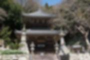 知多 岩屋寺の経蔵です。一切経が収蔵されておりました。