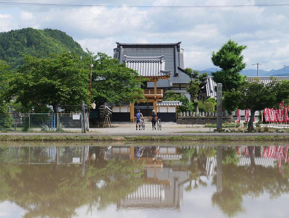 岐阜 醍醐寺 アクセス 田園と寺院.jpg