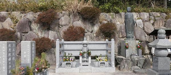 引き阿弥陀と永代供養墓 大福田寺.jpg