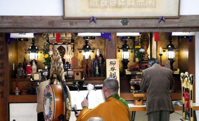 称名寺 柳谷観音月例法要7