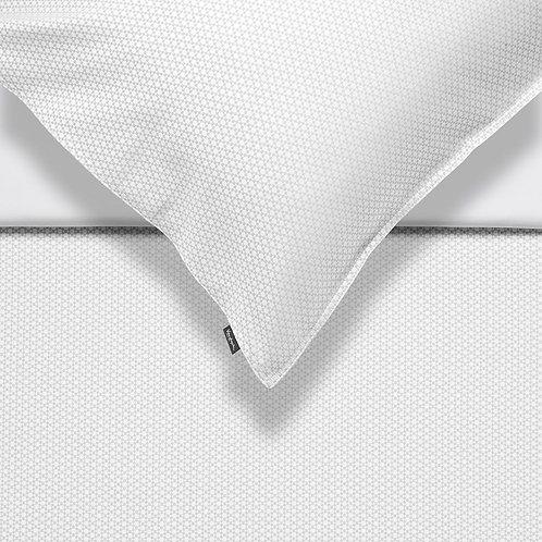 žakarda gultas veļa | Premium white