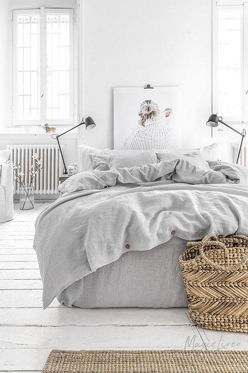 lina gultas veļa Light grey