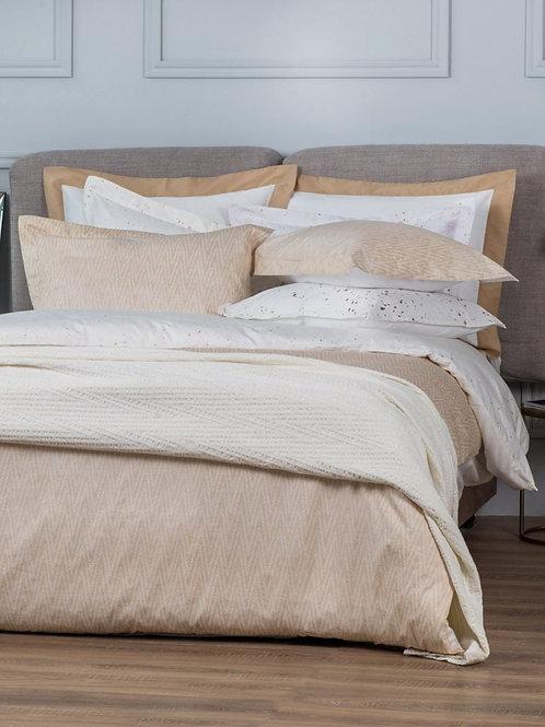 satīna gultas veļa Twist gold