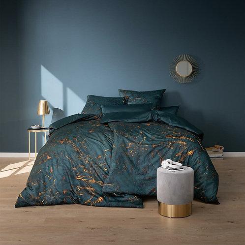 satīna gultas veļa | Raphael petrol