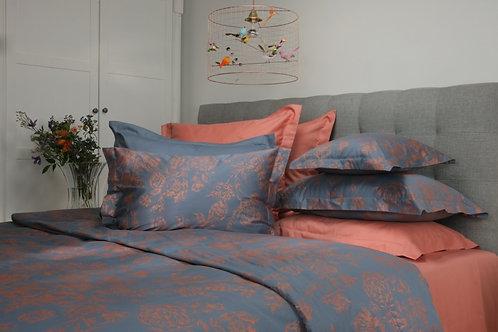 satīna gultas veļa | Peony copper