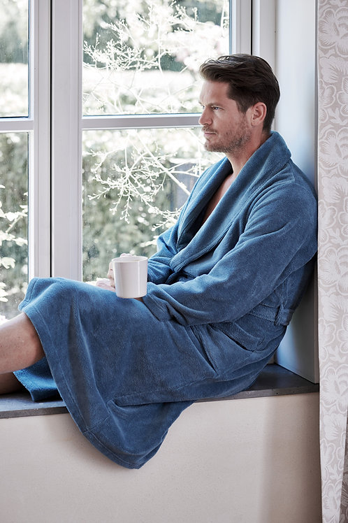 halāts unisex | Beaumont strom blue