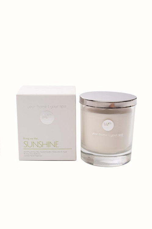 aromātiskā svece | SUNSHINE