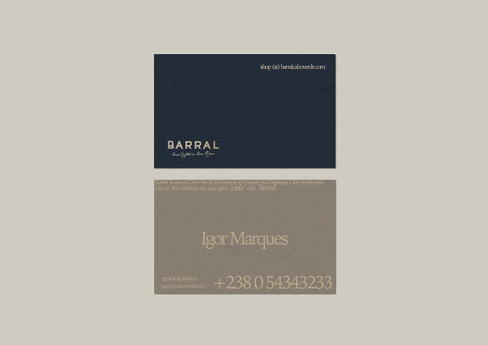 Barral - Cards