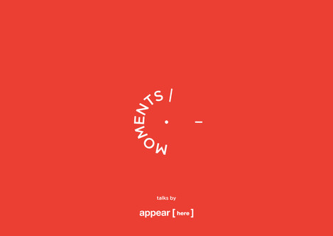 Brand Identity for Moments by Appear Here