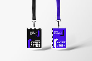 Name tags - Sound Reasons