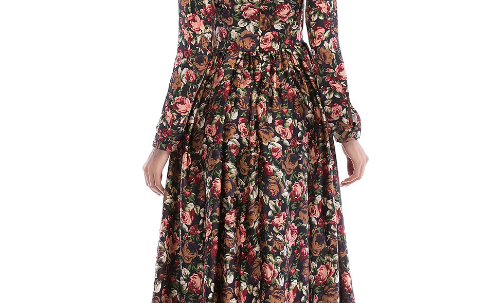 AZZARIA Women Flower Fantasia Dress long