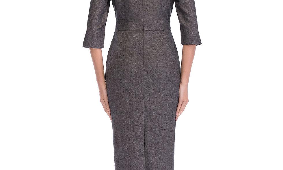 AZZARIA Women Grey Dress middle