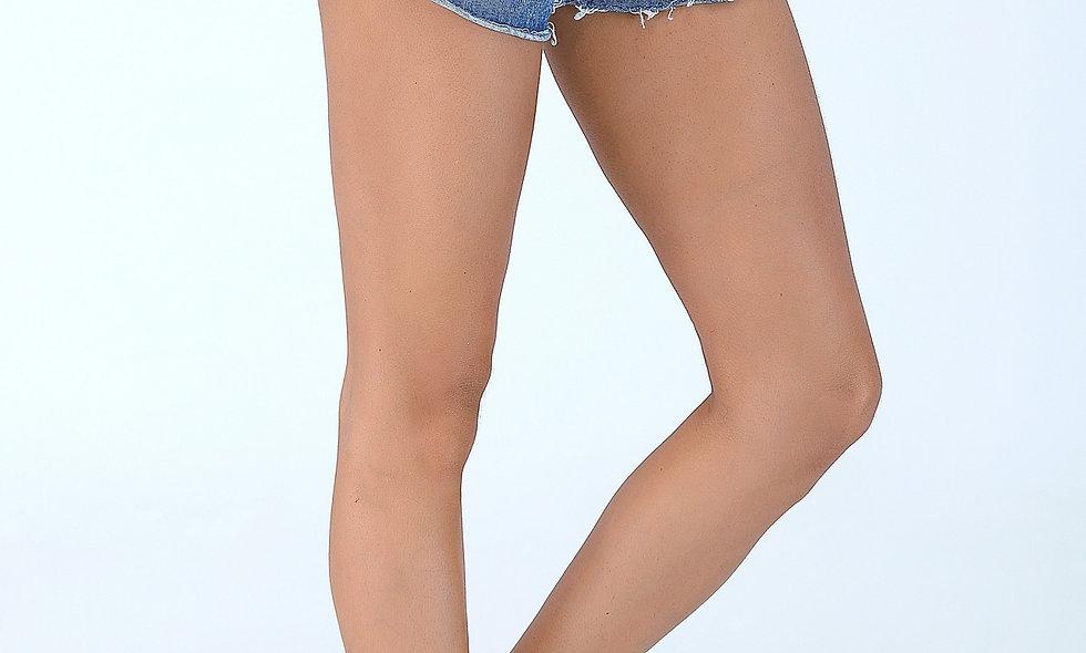 AZZARIA Women Blue Shorts