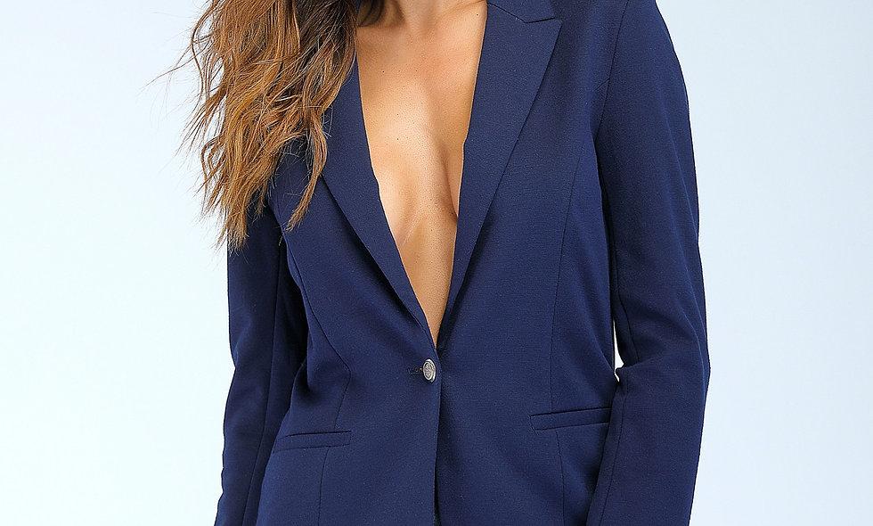 AZZARIA Women Blue navy Jacket