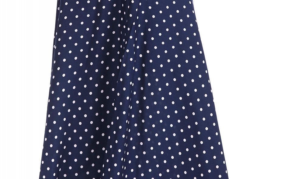 AZZARIA Women White/Blue Skirt long