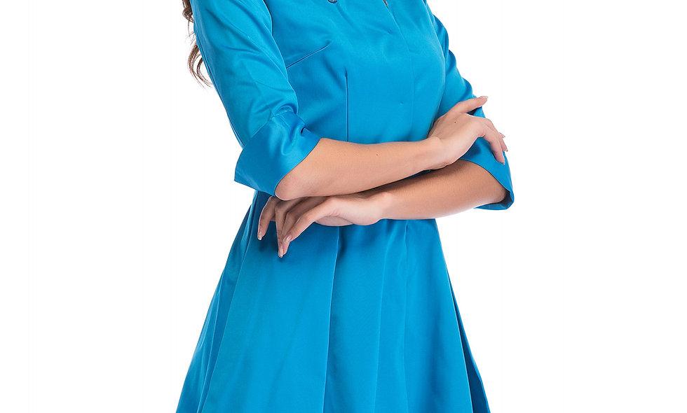 AZZARIA Women Sky Blue Coat
