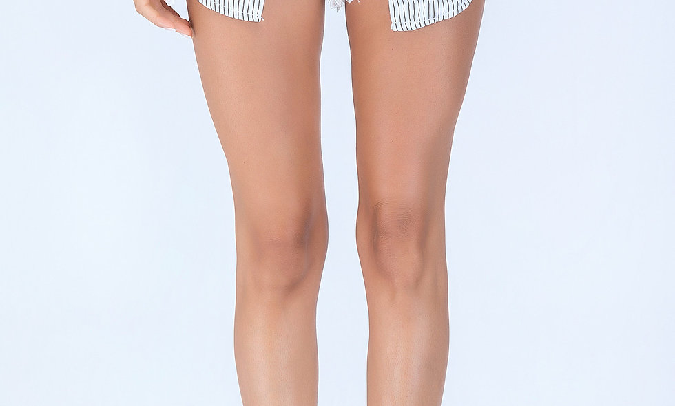 AZZARIA Women White Shorts