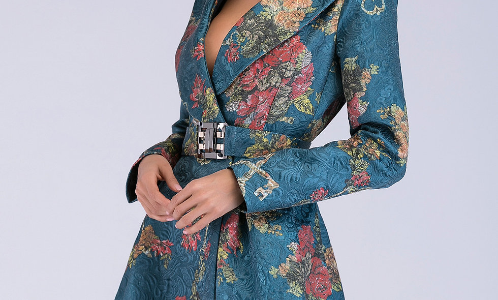 AZZARIA Women Flower Fantasia Coat