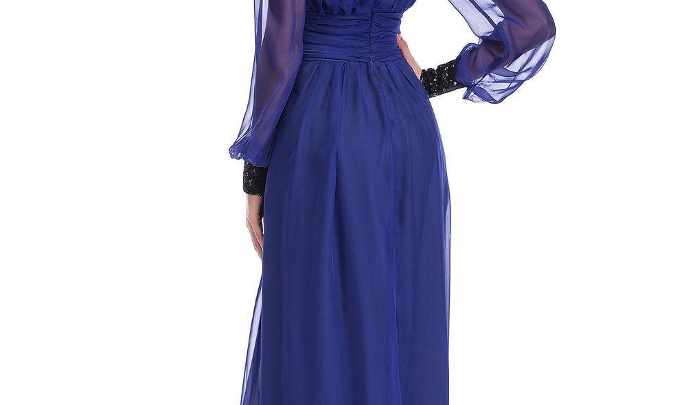 AZZARIA Women Purple Dress long