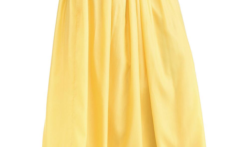 AZZARIA Women Yellow Skirt long