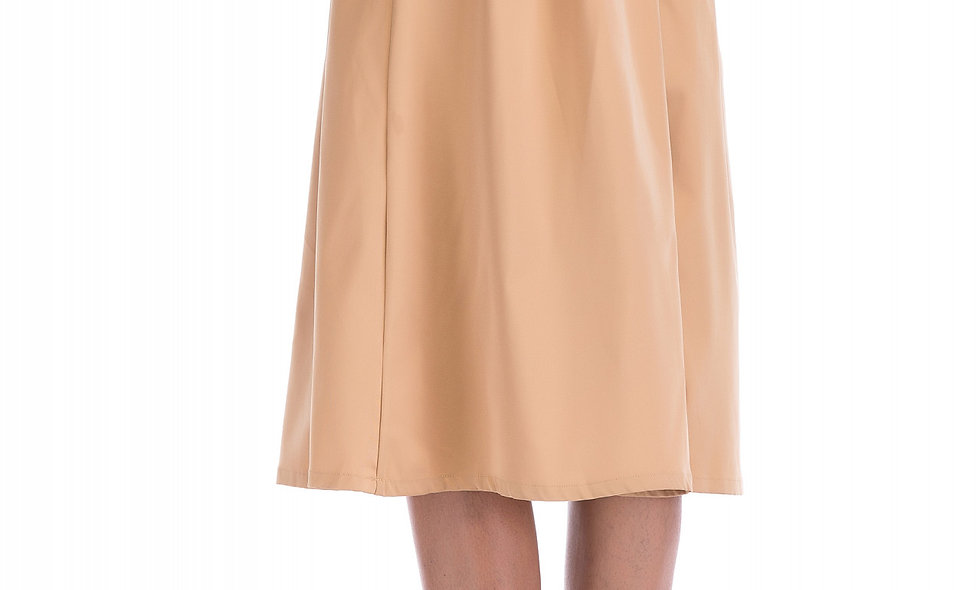 AZZARIA Women Light Brown Skirt middle