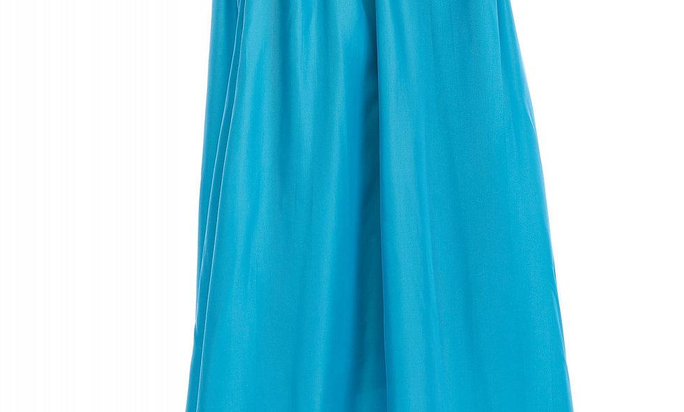AZZARIA Women Sky Blue Skirt long