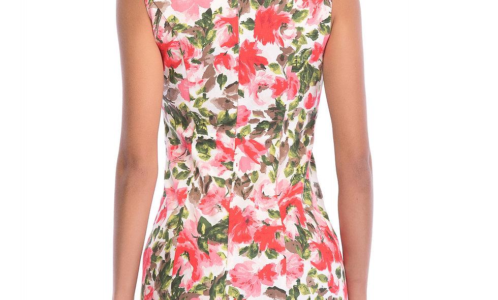 AZZARIA Women Flower Fantasia Dress short