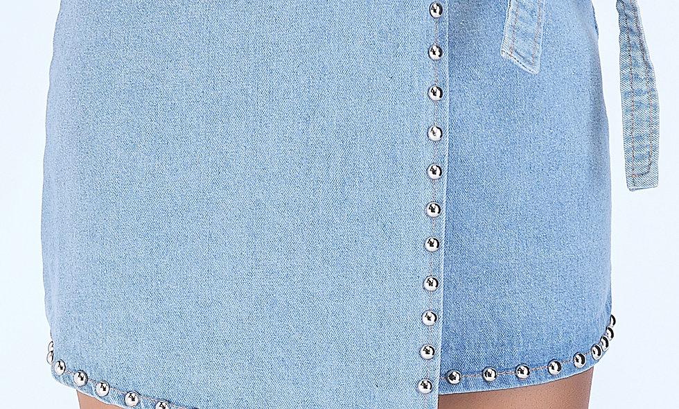 AZZARIA Women Blue Skirt short