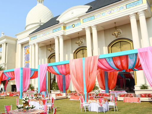 Wedding of HH The Maharaja of Dewas - Mehendi Ceremony Décor by Sajdhaj