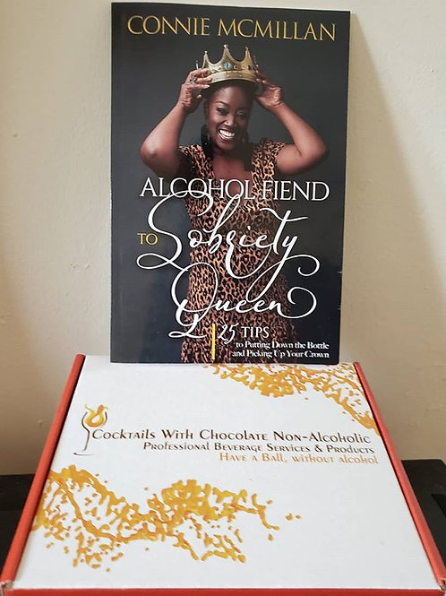 Sample Box & Book: Alcohol  Fiend To Sobriety Queen