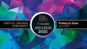 Relocate Awards 2021 souvenir programme